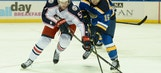 NHL preseason opens with Blues topping Blue Jackets 7-3