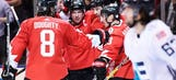 Canada beats Team Europe 3-1 in Game 1 of World Cup finals