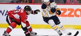 Sabres center Eichel out indefinitely with sprained ankle