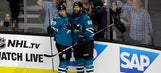 Burns' goal helps Sharks open season with 2-1 win over Kings