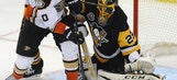 Kessel, Fleury lead Penguins in 3-2 win over Ducks