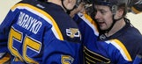 Tarasenko, Hutton lead Blues over Rangers 3-2
