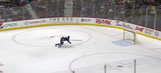 The Canucks scored a disastrous own goal into an empty net