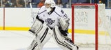 Father to back up son at minor-league hockey game