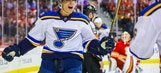 St. Louis Blues David Perron Cools Flames By Lighting Up The Night