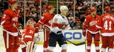 Sceviour's hat trick leads Panthers past Red Wings, 5-2