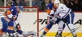 Nelson, Prince help Islanders beat Maple Leafs 5-1