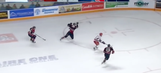 Florida Panthers prospect ethers defender on sick overtime goal