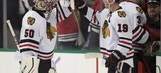 Chicago Blackhawks' Corey Crawford Earns NHL's Second Star