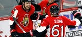 Stone scores with 7 seconds left, Senators beat Kings 2-1