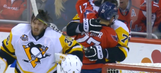 Watch Evgeni Malkin slash his own goalie in the face during altercation