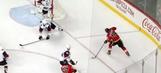 Watch Matthew Tkachuk score a beautiful goal from an impossible angle