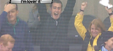 A Penguins rookie scored on his first NHL shift and his family went nuts