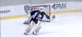 Goalie performs incredible figure skating routine in full hockey gear