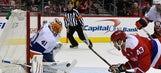 Halak, 3 quick goals lead Islanders past Ovechkin, Caps 3-0