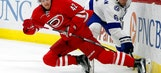 Di Giuseppe gets first goal in OT, Canes beat Lightning