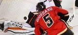 Gaudreau scores in return, Flames rout Ducks 8-3