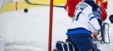 Hamilton scores twice, Flames beat Jets 6-2 for 6th straight