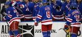 Raanta gets 2nd straight shutout, Rangers beat Devils 5-0