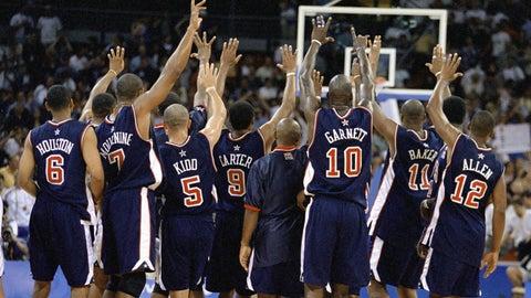 2000's gold-medal squad