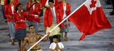 Who was that shirtless Tonga flagbearer at the Olympics?