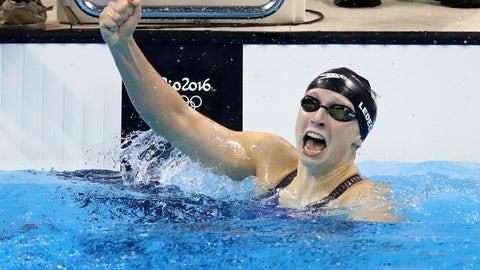 Katie Ledecky - 400-meter freestyle