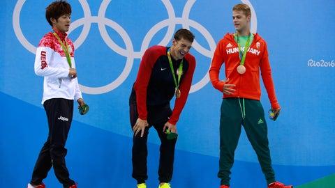 Michael Phelps - 200-meter butterfly