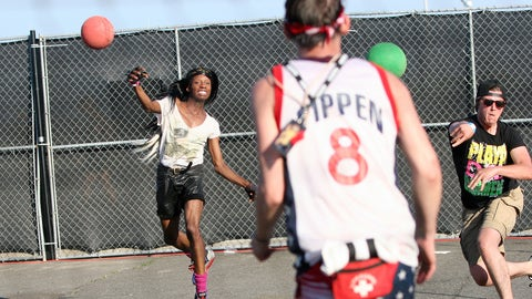 Should there be Olympic dodgeball? And should all of the players have to be on some sort of PED to make it interesting?