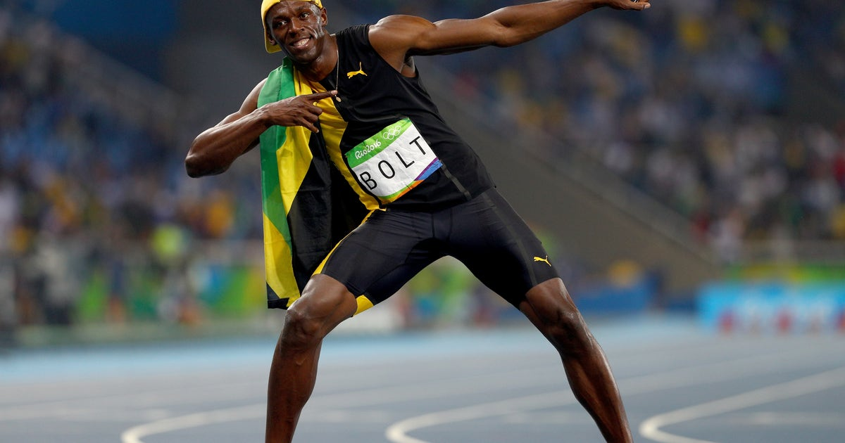 fc437c75f1cb9a Usain Bolt s signature pose actually comes from a Jamaican tourism ...