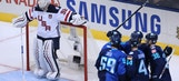 Quick, Team USA fall to Team Europe in WCOH Opener