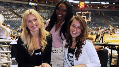 A visit to the BMO Harris Bradley Center isn't complete without stopping by the Bucks Live set.