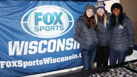 Thanks to all the fans who stopped by the FOX Sports Wisconsin booth!