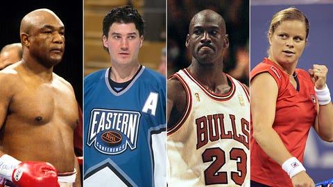 24 sports figure comebacks to commemorate the return of '24'