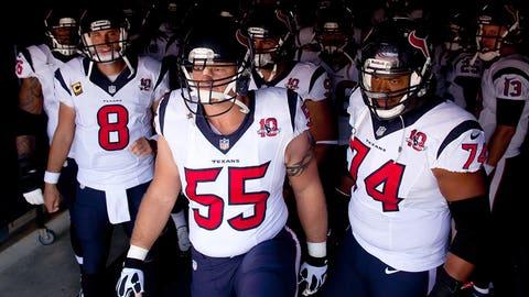 8. (tie) Houston Texans