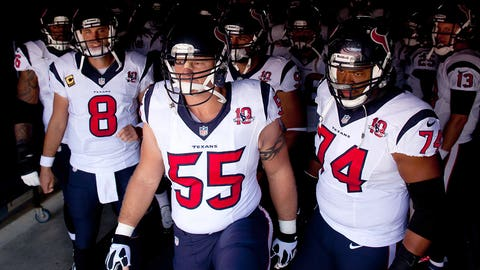8. (tie) Houston Texans