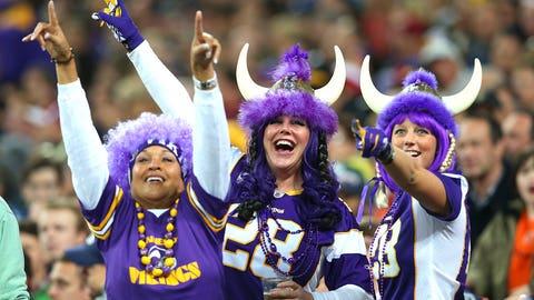 12. (tie) Minnesota Vikings