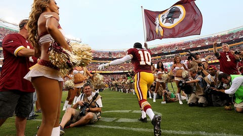 6. Washington Redskins