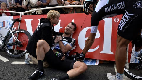 Cavendish crashes