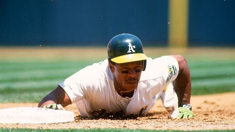 Rickey Henderson, OF, Athletics