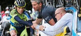 Contador in Madrid to treat injured leg, hopes to race in August