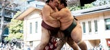 This photo of 29 sumo wrestlers on same flight is pretty spectacular