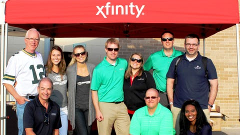 A big thanks to the Comcast team for organizing a great event!