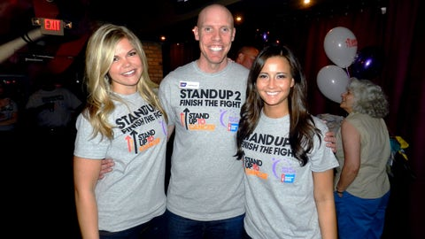 FOX Sports Supports Stand Up To Cancer. Who do you Stand Up for?