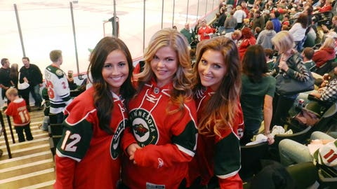 We're so excited to have the Wild back at the X! #homeice