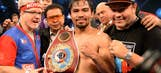 Pacquiao debuts in pro basketball month before title defense