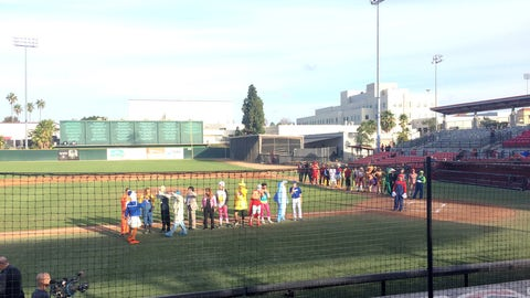 SDSU Baseball Halloween Game