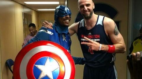 Paul Pierce as Captain America
