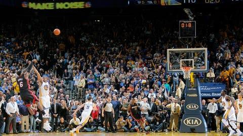 Feb. 12: Heat 111, Warriors 110