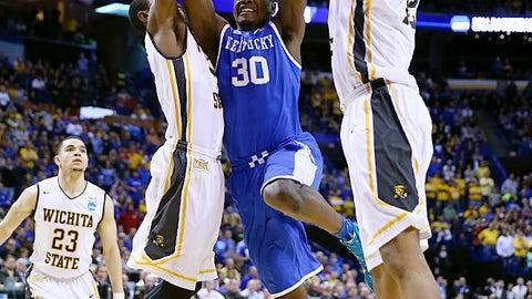March 23: Kentucky 78, Wichita State 76 (NCAA tournament third round)