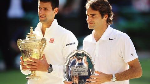 July 6: Djokovic defeats Federer (Wimbledon final)